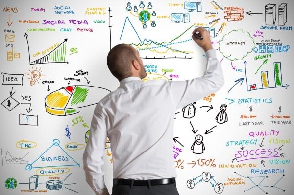an image of a man teaching digital marketing services